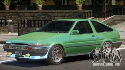 1986 Toyota Sprinter V1 para GTA 4