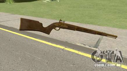 Edinburgh Musket (Gold) GTA V para GTA San Andreas