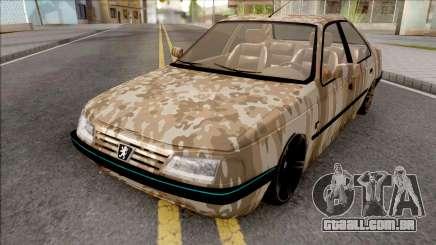 Peugeot 405 Army para GTA San Andreas