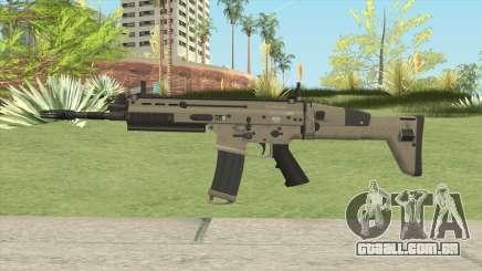 SCAR-L Assault Rifle para GTA San Andreas