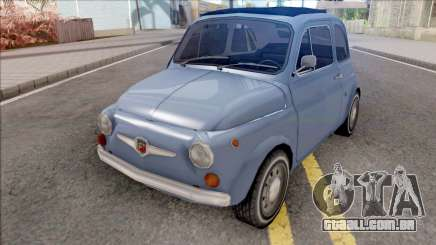 Fiat Abarth 595 SS 1968 Strip Wheels para GTA San Andreas