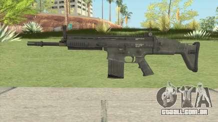 SCAR-H Black para GTA San Andreas