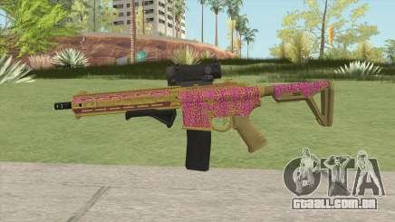 Carbine Rifle GTA V (Leopardo Rosa) para GTA San Andreas