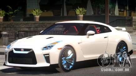 Nissan GTR Custom V1 para GTA 4