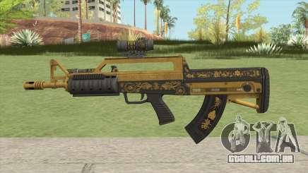 Bullpup Rifle (Two Upgrades V3) Main Tint GTA V para GTA San Andreas