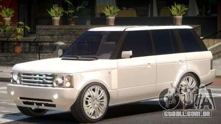 Range Rover Vogue V1.0 para GTA 4
