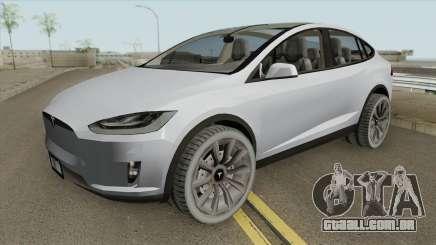 Tesla Model X (Low Poly) 2016 para GTA San Andreas