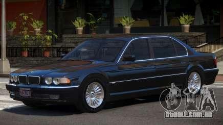 BMW 750iL E38 V1.0 para GTA 4