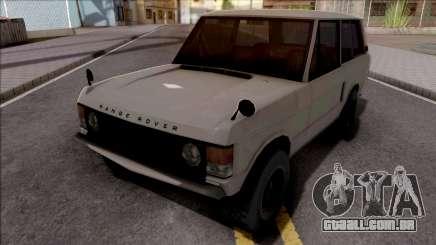 Land Rover Range Rover Classic 1970 para GTA San Andreas