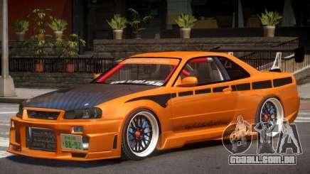 Nissan GT-R Alfa para GTA 4