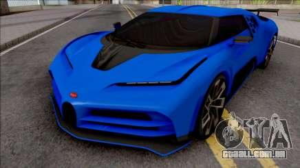 Bugatti Centodieci EB110 2020 Milestone para GTA San Andreas