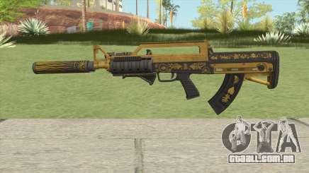 Bullpup Rifle (Three Upgrade V7) Main Tint GTA V para GTA San Andreas