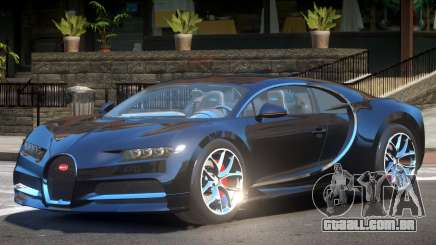 Bugatti Chiron V1.0 para GTA 4