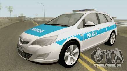 Opel Astra J (Policja KSP) para GTA San Andreas