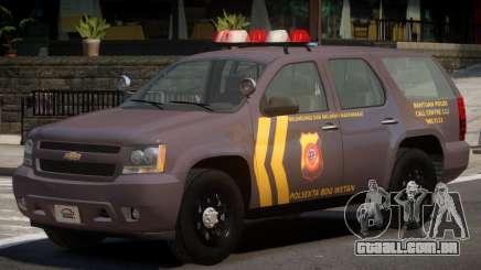 Chevrolet Tahoe Y12 Police para GTA 4