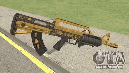 Bullpup Rifle (Grip V1) Main Tint GTA V para GTA San Andreas