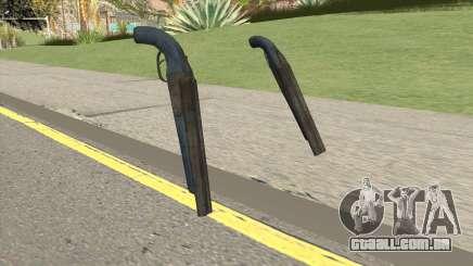 Double Barrel Shotgun GTA V (LSPD) para GTA San Andreas