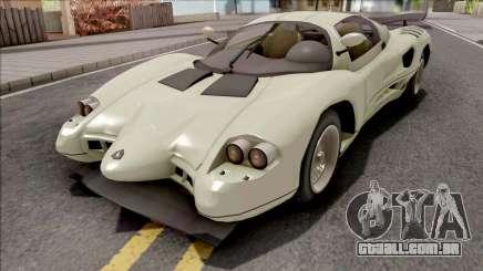 GTA V-ar Grotti Cheetah Retro para GTA San Andreas