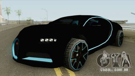 Bugatti Chiron 42 Seconds (SA Style) 2018 para GTA San Andreas