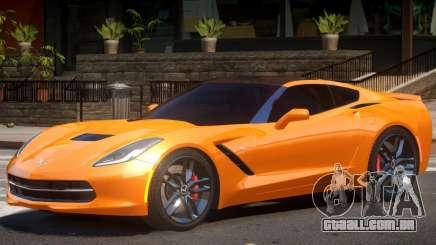 Chevrolet Corvette C7 Z51 para GTA 4