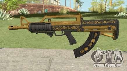 Bullpup Rifle (Grip V2) Main Tint GTA V para GTA San Andreas