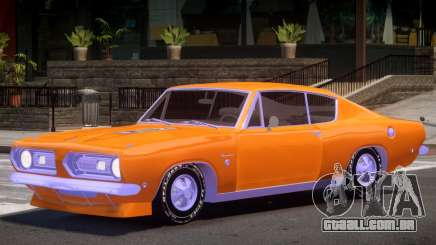 Plymouth Barracuda V1.0 para GTA 4