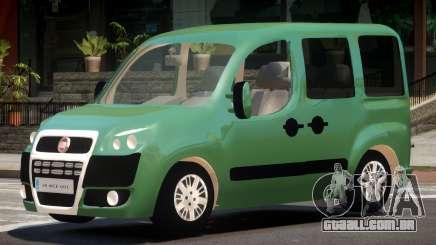 Fiat Doblo V1.0 para GTA 4