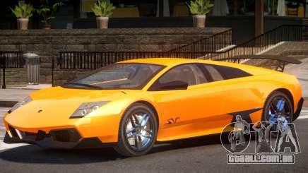 Lamborghini Murcielago Y10 para GTA 4
