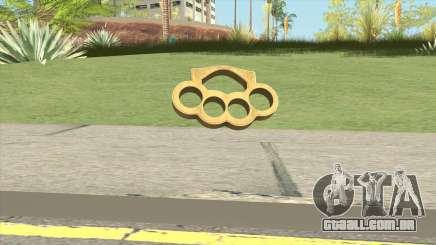 Knuckle Dusters (Default) GTA V para GTA San Andreas