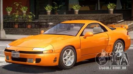 1992 Mitsubishi 3000GT para GTA 4