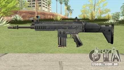 SCAR-H Black (Soldier Front 2) para GTA San Andreas