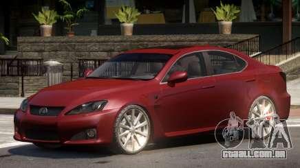 Lexus IS Comfortable para GTA 4