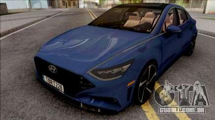 Hyundai Sonata Turbo 2020 para GTA San Andreas