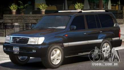 Toyota Land Cruiser 100 V1.0 para GTA 4