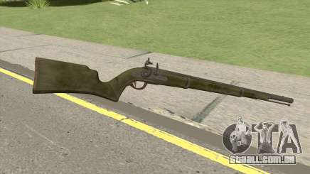 Edinburgh Musket (Green) GTA V para GTA San Andreas