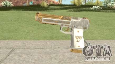 Pistol 50 (Platinum Pearl) GTA V para GTA San Andreas