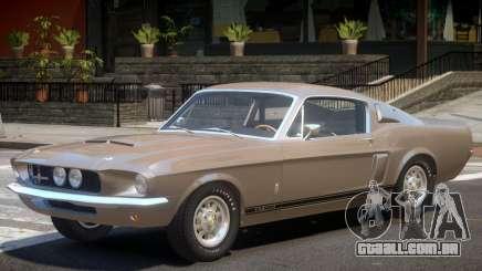 1967 Shelby GT500 para GTA 4