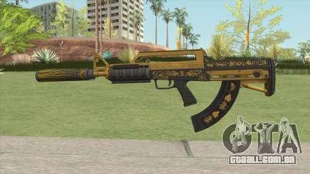 Bullpup Rifle (Suppressor V2) Main Tint GTA V para GTA San Andreas
