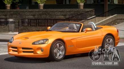 Dodge Viper Spider para GTA 4