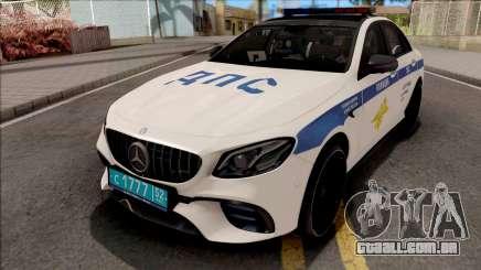 A Mercedes-Benz E63 AMG W213 DPS para GTA San Andreas