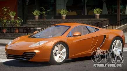 McLaren MP4 V1.0 para GTA 4