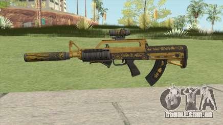 Bullpup Rifle (Three Upgrade V3) Main Tint GTA V para GTA San Andreas