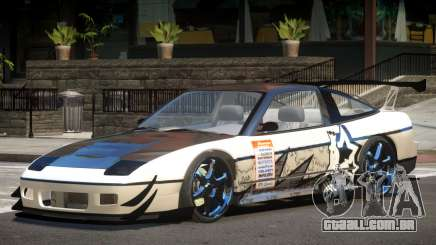 Nissan 240SX V1 PJ para GTA 4