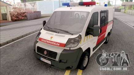 Fiat Ducato Katasztrofavedelem para GTA San Andreas