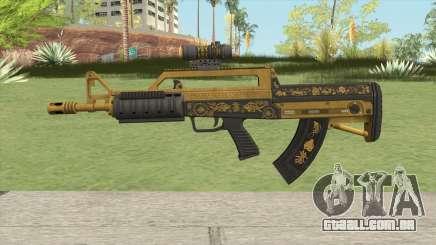 Bullpup Rifle (Scope V1) Main Tint GTA V para GTA San Andreas