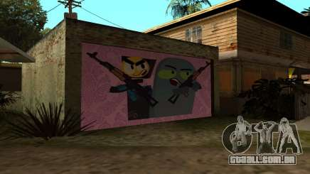 New CJ House Garage Master From and Brock para GTA San Andreas