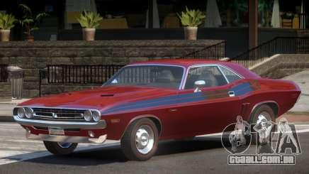 1971 Dodge Challenger R1 para GTA 4