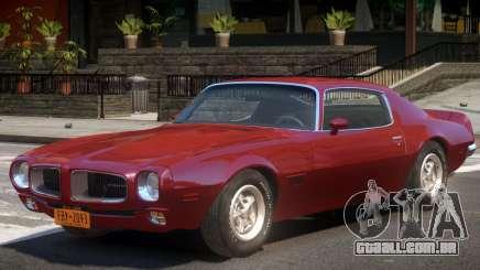 1970 Pontiac Firebird V1 para GTA 4