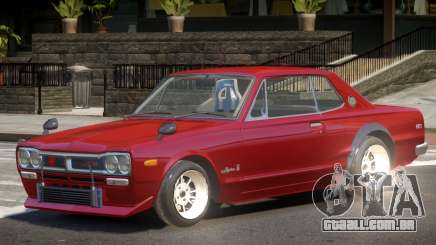 Nissan Skyline GT-R Tun para GTA 4