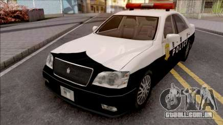 Toyota Crown S170 Patrol Car SA Style para GTA San Andreas